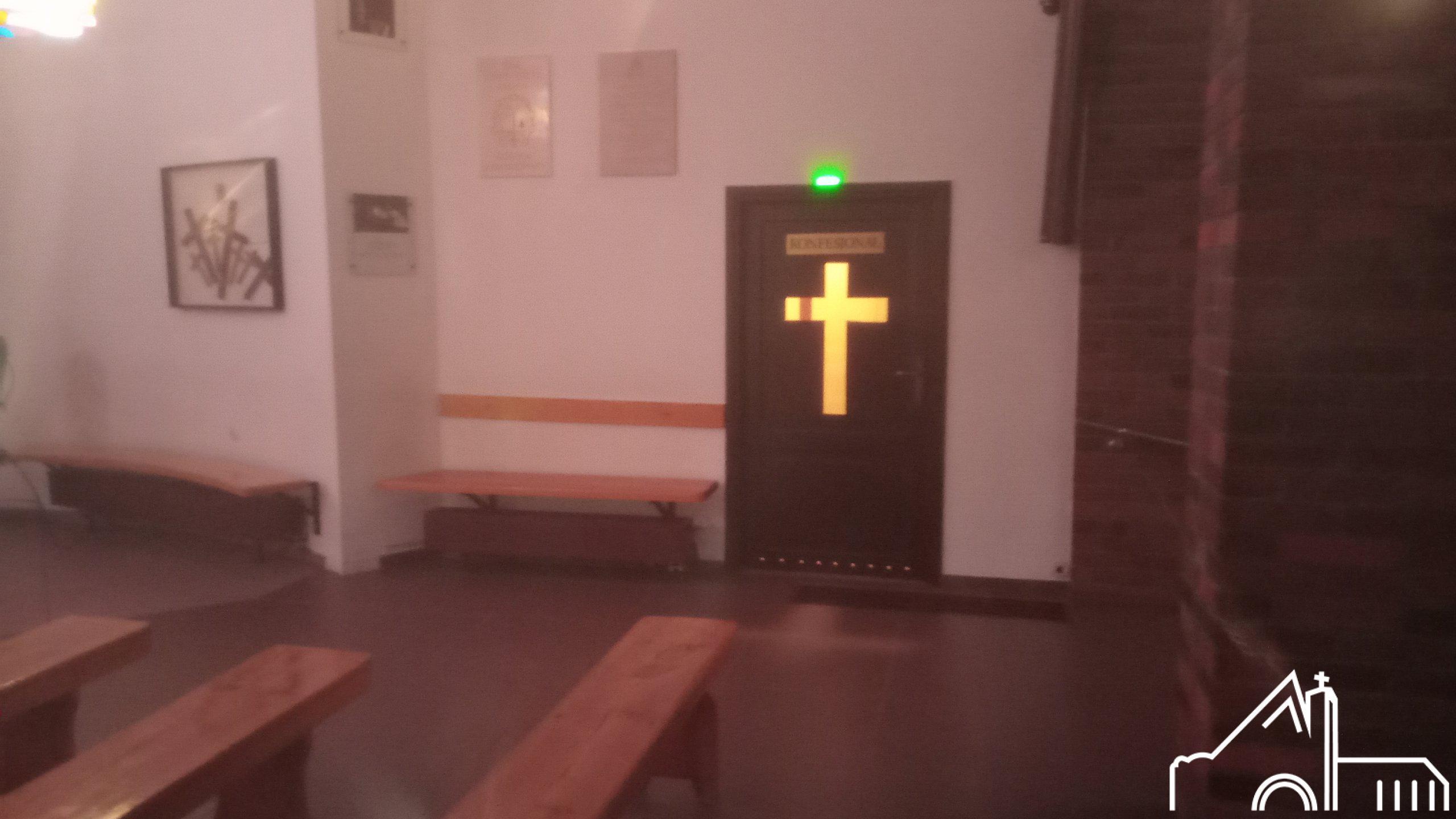 30 XI 2019 – Odnowione drzwi do konfesjonału