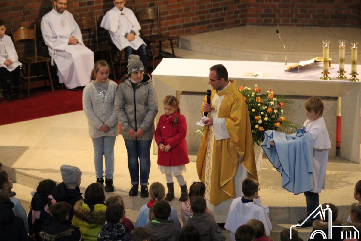 24 XI 2019 – Msza św. z udziałem dzieci