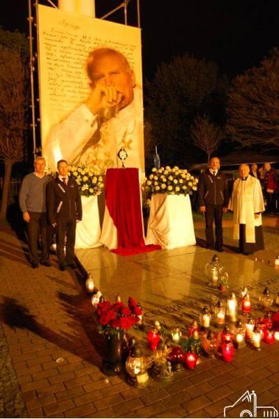 1 V 2012 – Łęgi Dębińskie I rocznica Beatyfikacji Jana Pawła II