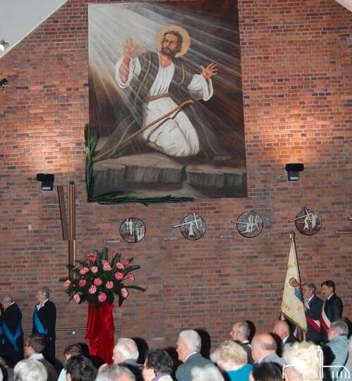 28 IX 2011 – Nowy obraz i witraży św. Pawła