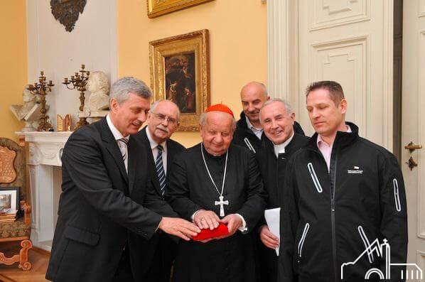 25 IV 2012 – Przejęcie Relikwii bł. Jana Pawła II