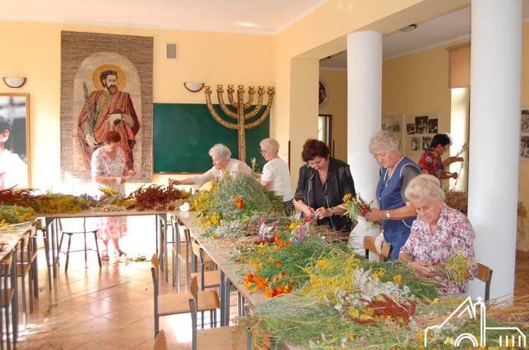 14 VIII 2012 –  Przygotowanie do uroczystości Wniebowzięcia N.M.P.