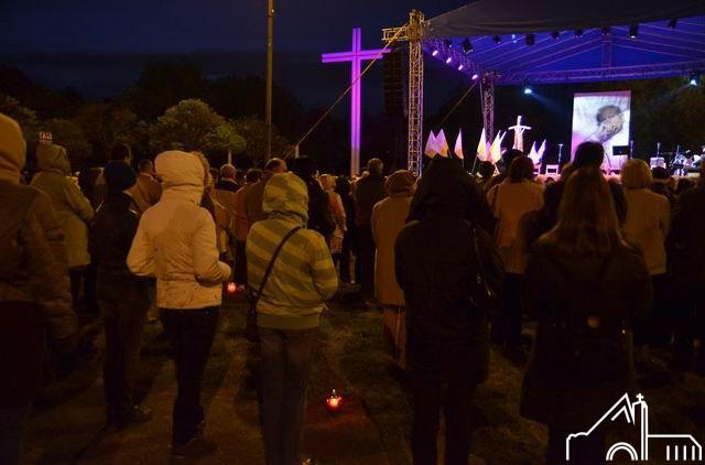 2 V 2011 – Łęgi Debińskie. Czuwanie z okazji beatyfikacji Jana Pawła ІІ