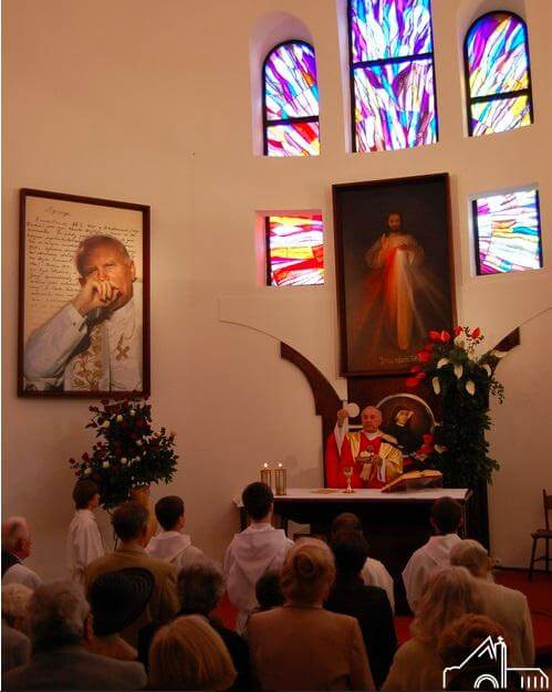 1 V 2011 – Odsłonięcia obrazu i tablicy pamiątkowej bł. Jana Pawła II
