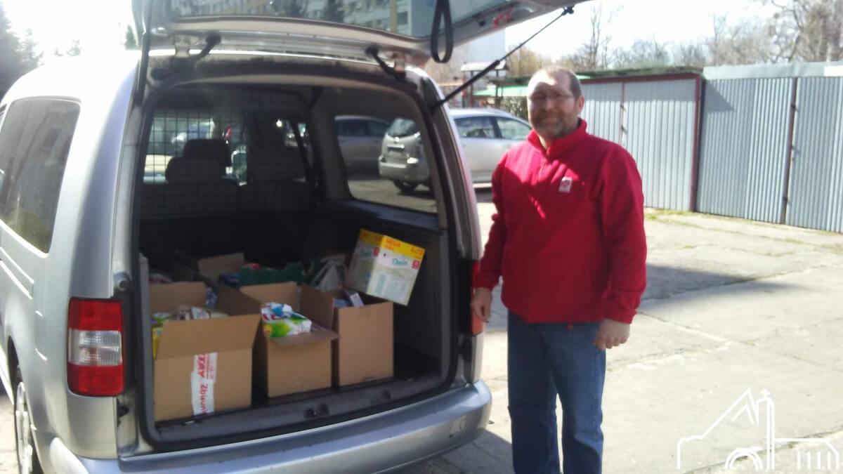 3 IV 2020 – Dary dla potrzebujących Caritas