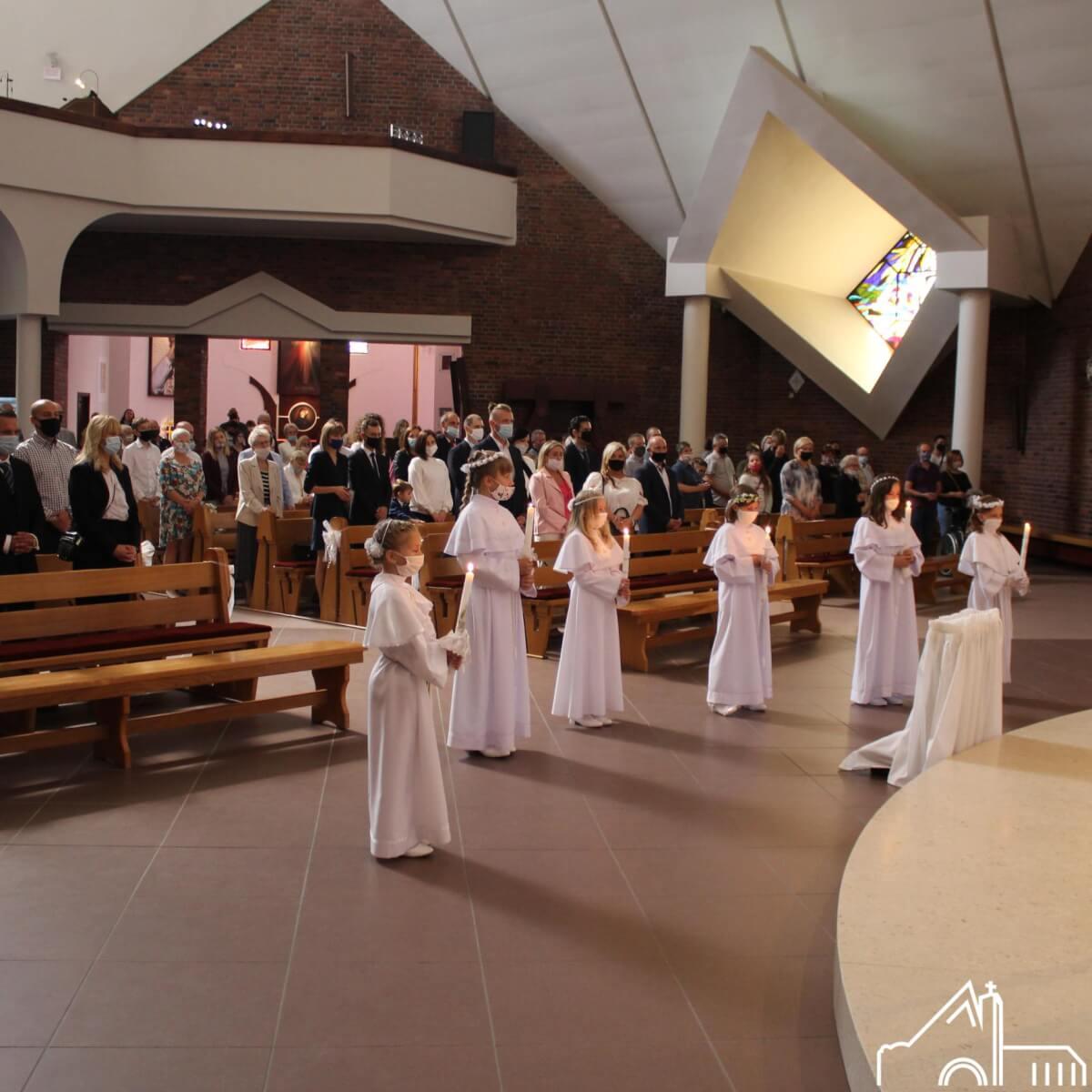 13 IX 2020 – I Komunia św.