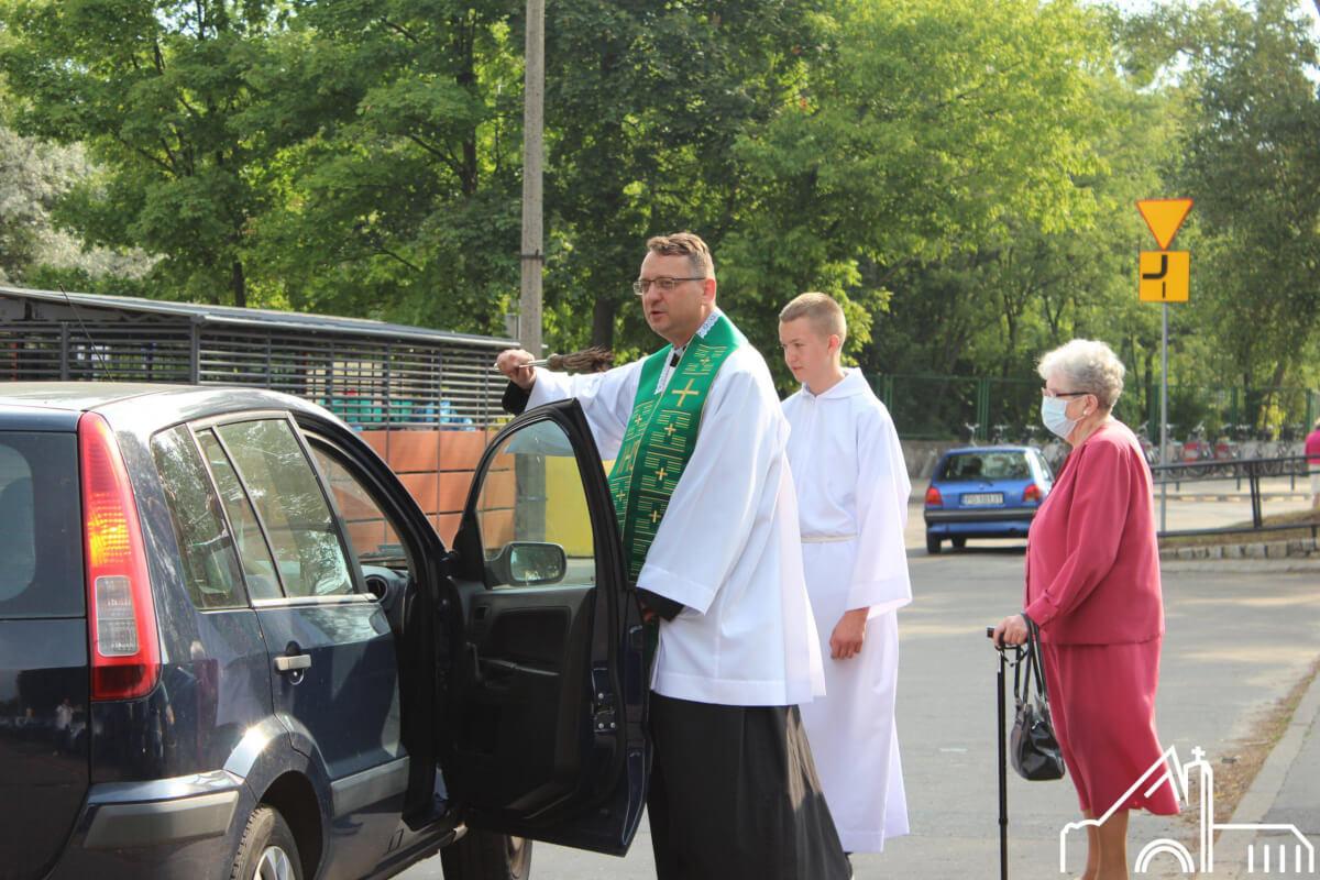25 VII 2021 Święto patrona kierowców św. Krzysztofa.