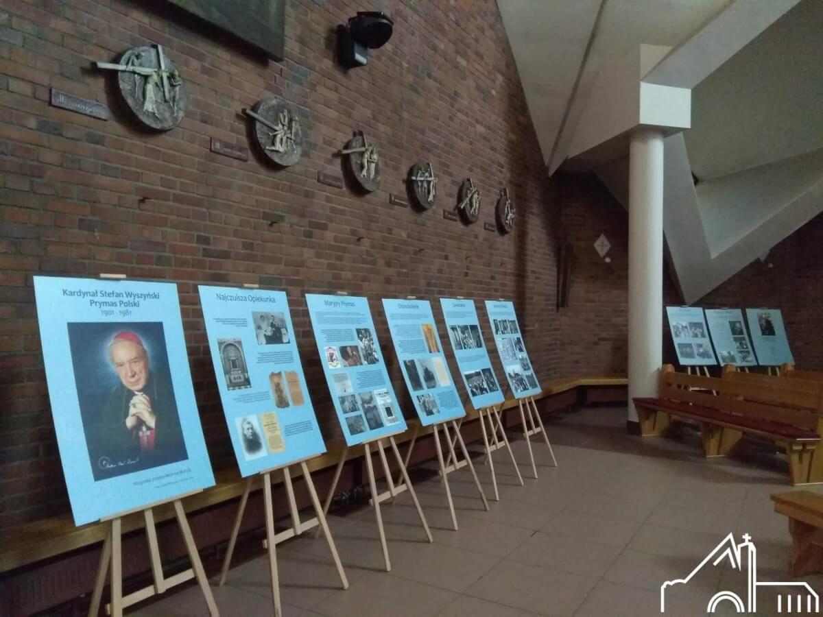 6 X – 21 X 2021  Wystawa o bł. Kardynale Stefanie Wyszyńskim.